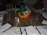 CR.8 CBA Staff Party - Table setting
